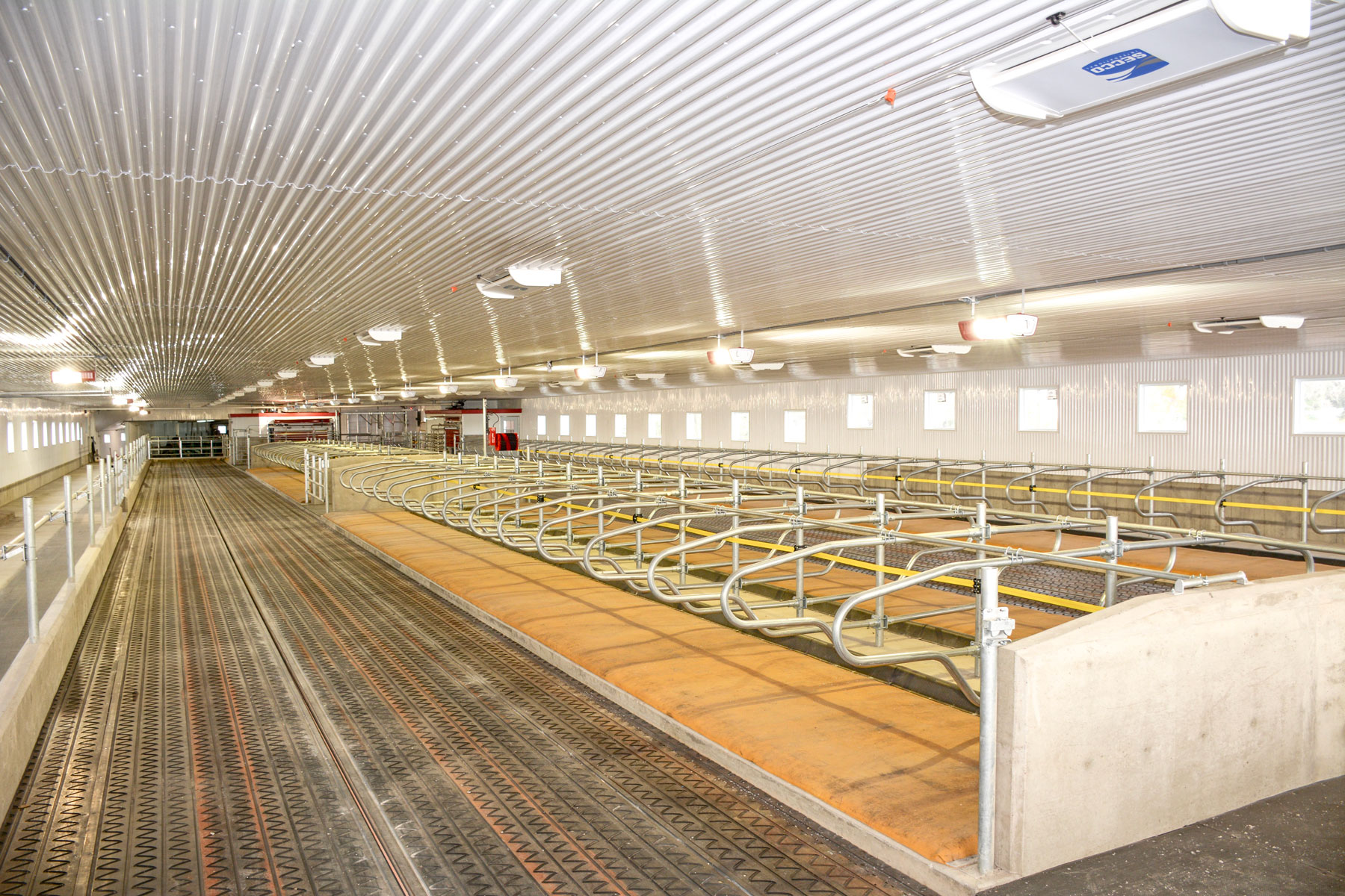 installation agricole vache laitière / Équipements PFB