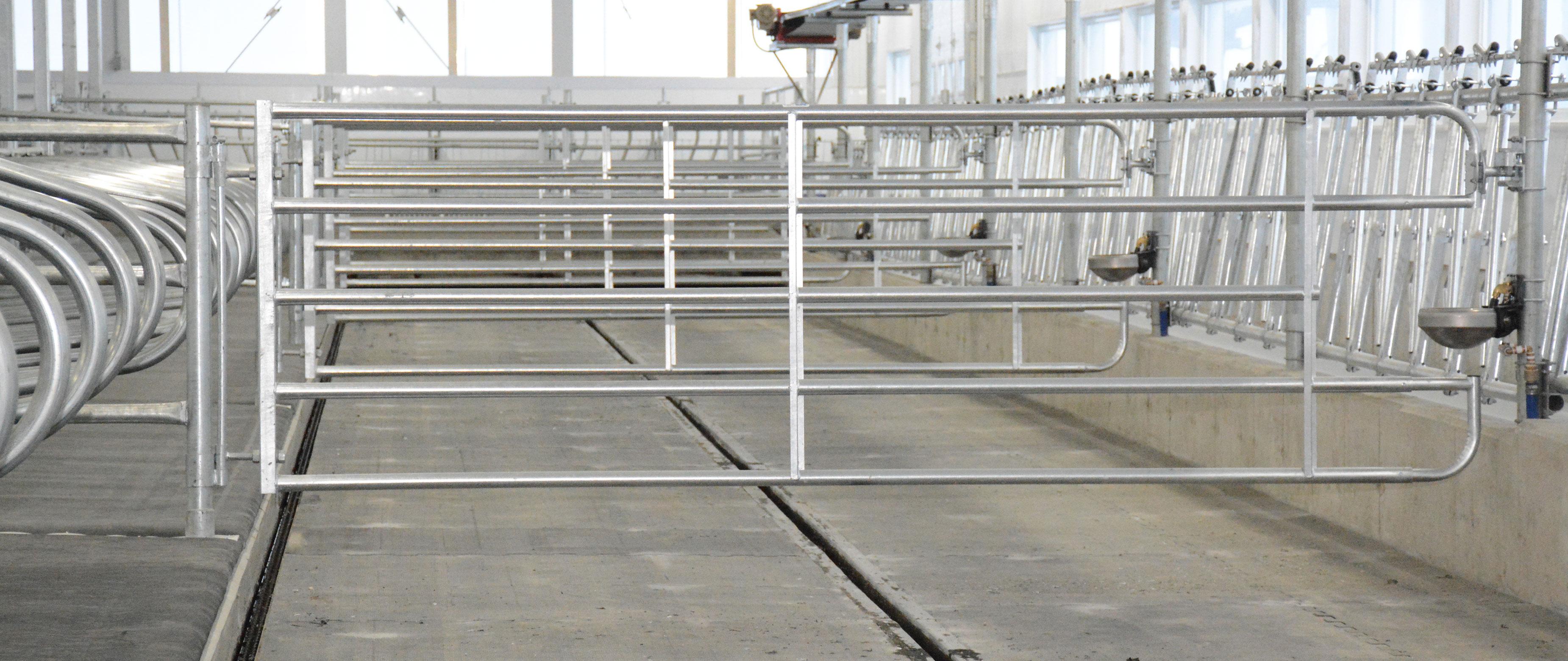 logette étable vache laitière installation agricole / Équipements PFB