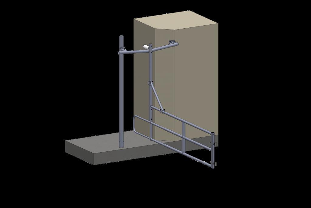 barrière de trafic à robot - installation agricole - stabulation / Équpements PFB